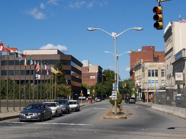 Downtown Fall River, MA