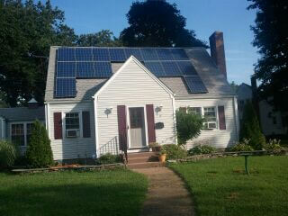 Residential solar panel customer: Stephanie Boucher